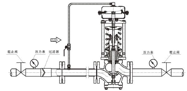 雷力阀门--zzyp自力式压力调节阀图片